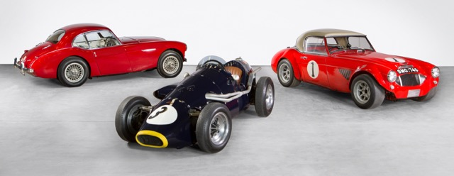Arthur Carter cars going to auction will be at Goodwood Revival meeting this weekend | Bonhams photos