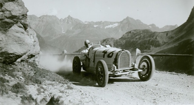Vintage sports cars to challenge Switzerland's Bernina Pass