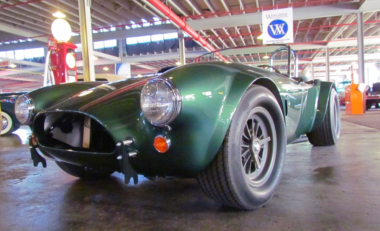 Worldwide Auctions offering one of only four Shelby Cobra 289 Dragonsnakes | Larry Edsall photos