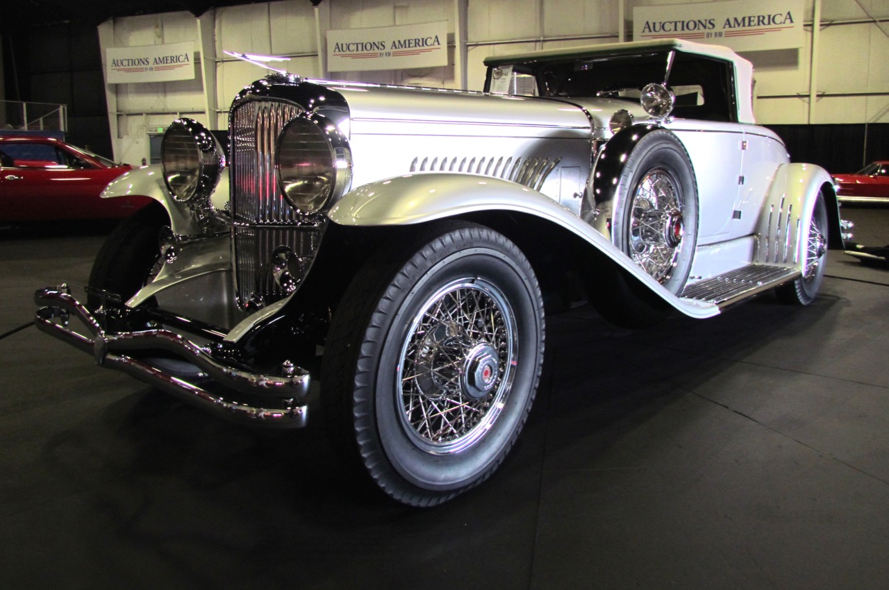 Murphy-bodied 1929 Duesenberg Model J leads the way at $1.4 million | Larry Edsall photos