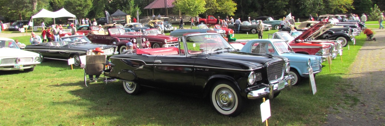 SuEllyn Rody's 1960 Studebaker Lark VIII among featured convertibles at Orphan Car Show | Photos by Larry Edsall