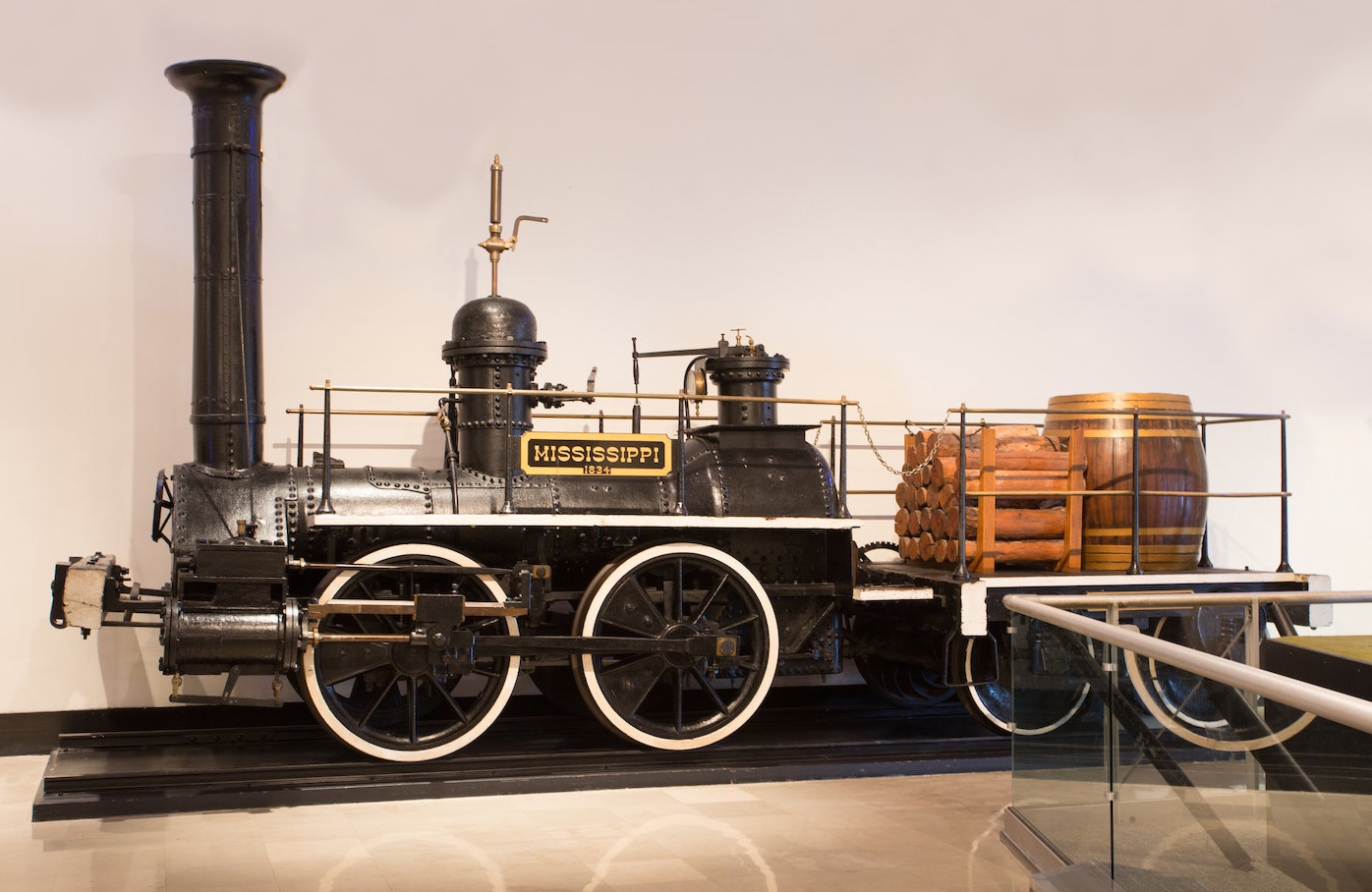 The Mississippi on display at Museum of Science and Industry in Chicago | Bonhams photo