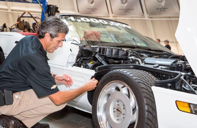 One last signature completes 1 Millionth Corvette restoration
