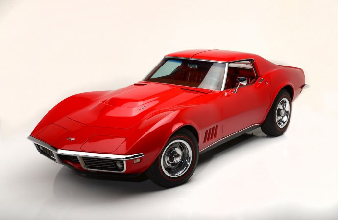 Countdown to Barrett-Jackson Las Vegas: 1968 Chevrolet Corvette L88