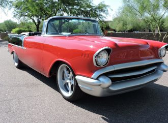 Countdown to Barrett-Jackson Las Vegas: 1957 Chevrolet 210 Custom Convertible