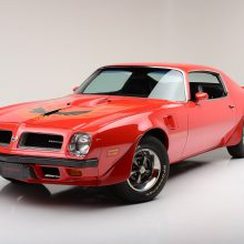 Countdown to Barrett-Jackson Las Vegas: 1974 Pontiac Firebird Trans Am 455 Super Duty