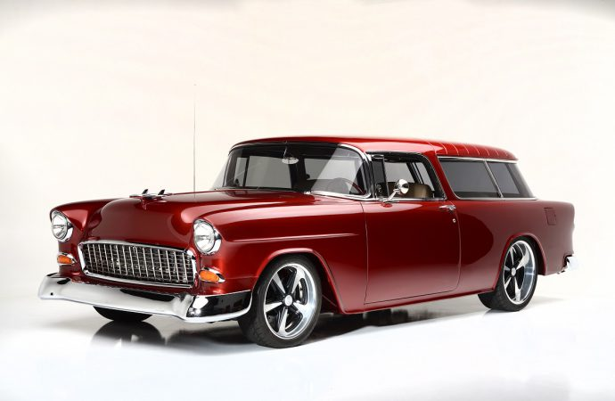 Countdown to Barrett-Jackson Las Vegas: 1955 Chevrolet Nomad Custom Wagon