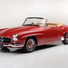 Countdown to Barrett-Jackson Las Vegas: 1959 Mercedes-Benz 190SL Convertible