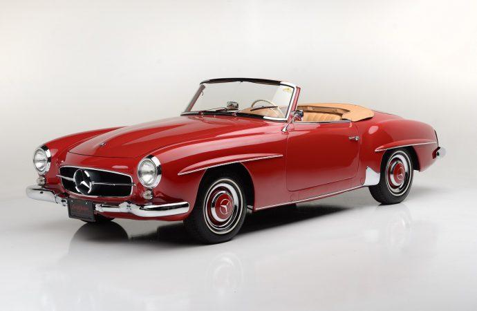 Countdown to Barrett-Jackson Las Vegas: 1959 Mercedes-Benz 190SL Convertible