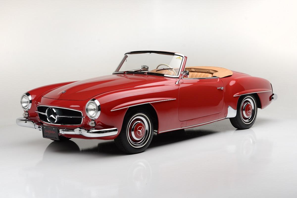 Countdown to barrett jackson las vegas 1959 mercedes benz for Mercedes benz vegas