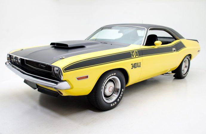 Countdown to Barrett-Jackson Las Vegas: 1970 Dodge Challenger T/A