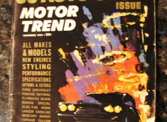Vintage auto-show magazine draws us back to new cars of 1963