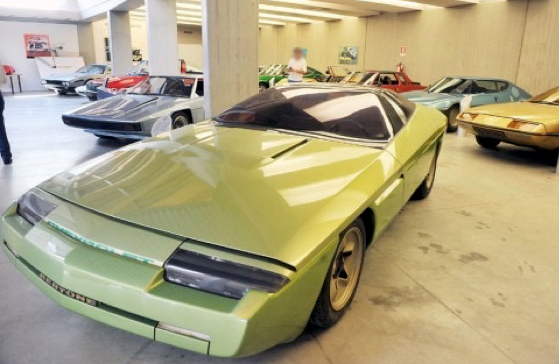 Some of the cars from the Bertone collection going to Italian bankruptcy auction