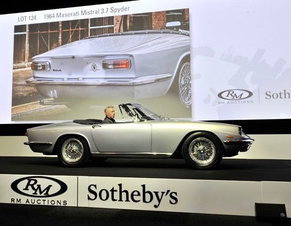 Ferraris set pace as RM Sotheby's does $25.4 million in London