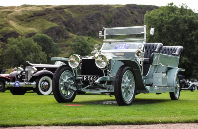 1903 Mercedes voted best of show at 'Royal' concours d'elegance