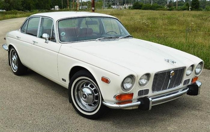 The Jaguar XJ6 is believed to be a well-preserved car with factory paint and interior