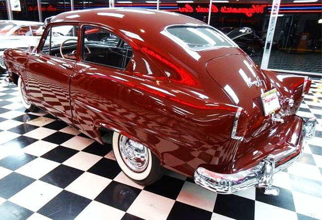 Pert tailfins are a signature styling feature of the little Henry J