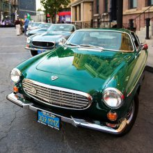 Sixty years of Volvo in U.S. celebrated Hollywood style