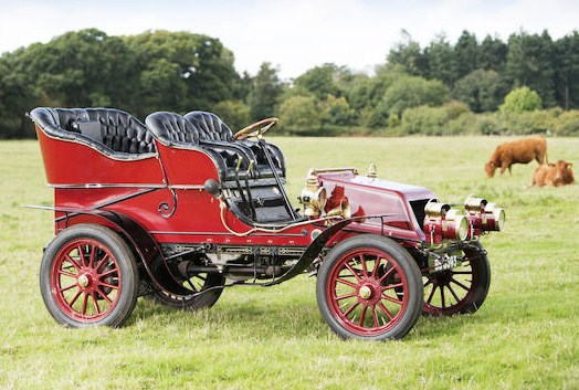 The 1904 Winton 4¼-Litre 20hp is a premium American car