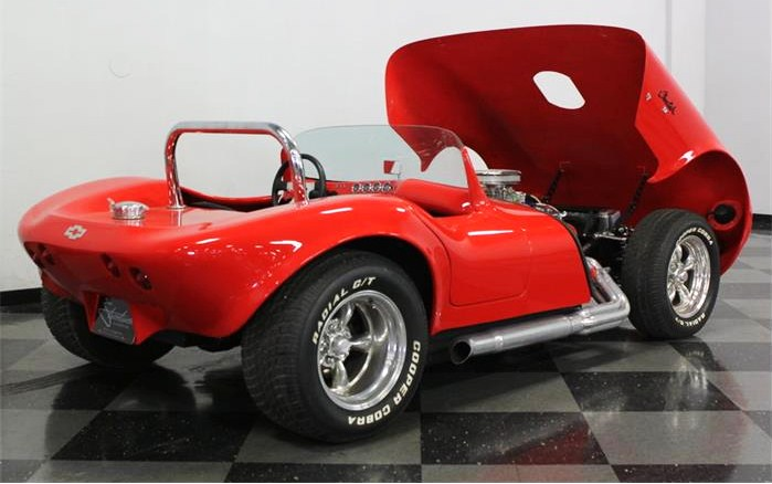 With its 350 cid V8, the Cheetah has a tremendous power-to-weight ratio