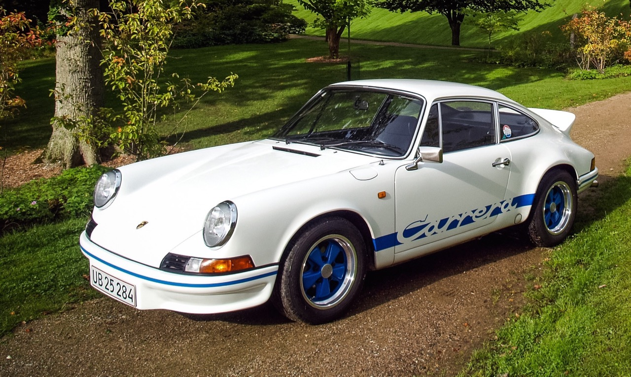 1973 911 2.7 RS Touring tops auction, selling for $628,000