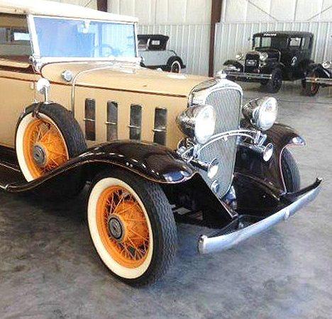 1932 Chevrolet Confederate Deluxe cabriolet