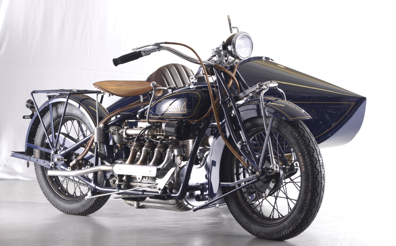 1914 Indian with sidecar