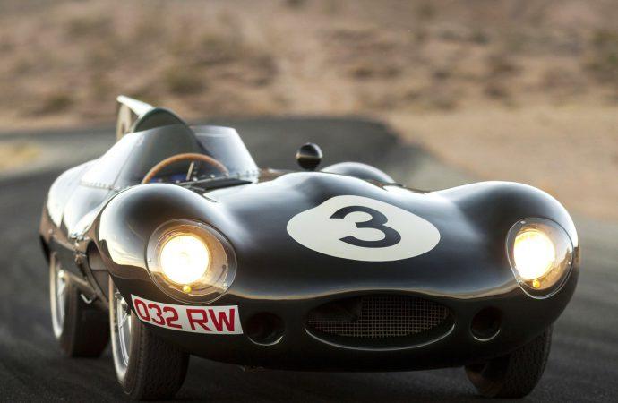 First Jaguar D-type 'Long Nose' racer set for RM Sotheby's Arizona auction