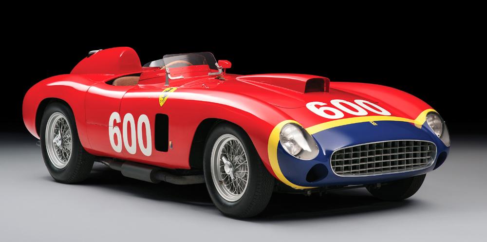 The 1956 Ferrari 290 MM has a singular provenance of legendary race drivers | RM Sotheby's
