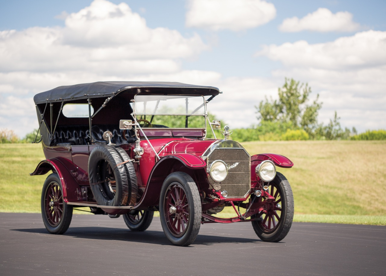 1913 Pierce-Arrow tops sales list at Hershey | RM Sotheby's photo by Drew Shipley