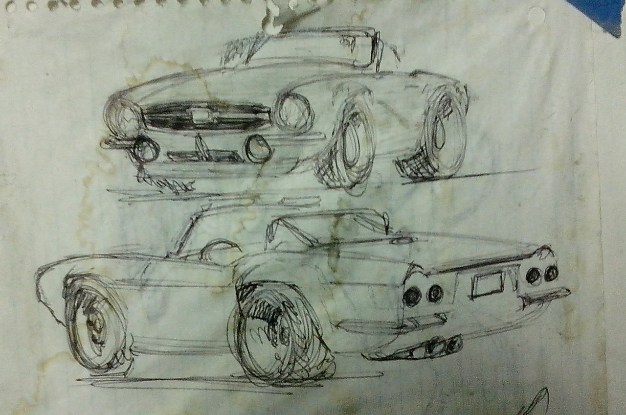 Sketches show the desired look