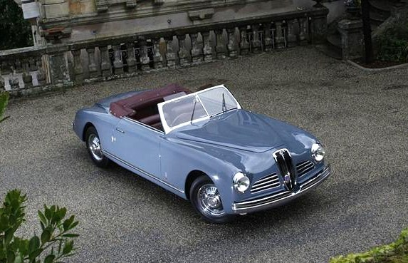 The elegant Lancia prototype proved to be a landmark design