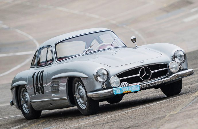 1955 Mercedes-Benz 300 SL Gullwing factory-prepped racer joins RM Sotheby's New York auction