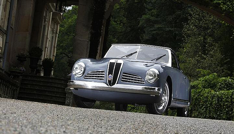Pinin Farina's Lancia Aprilia prototype was barred from the 1947 Paris Motor Show | Dragone Auctions photos