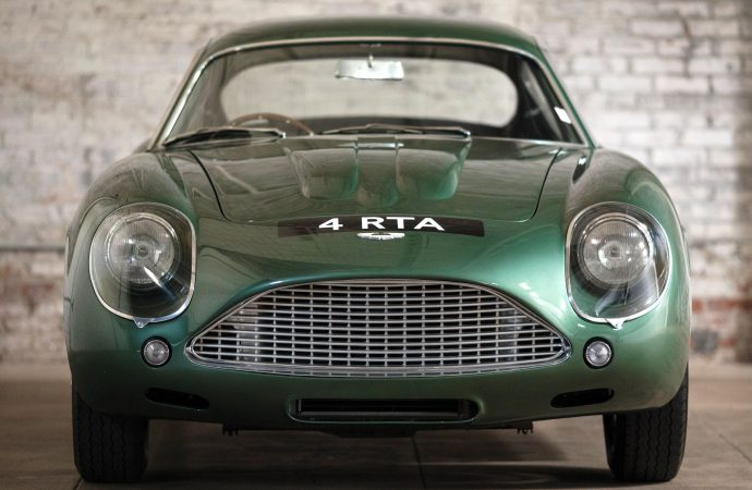 Spectacular Aston Martin DB4GT Zagato to be auctioned at RM Sotheby's New York sale in December