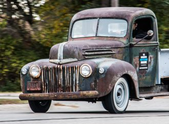 Hagerty crew resurrects old Ford pickup truck from spare parts during Hershey Swap Meet