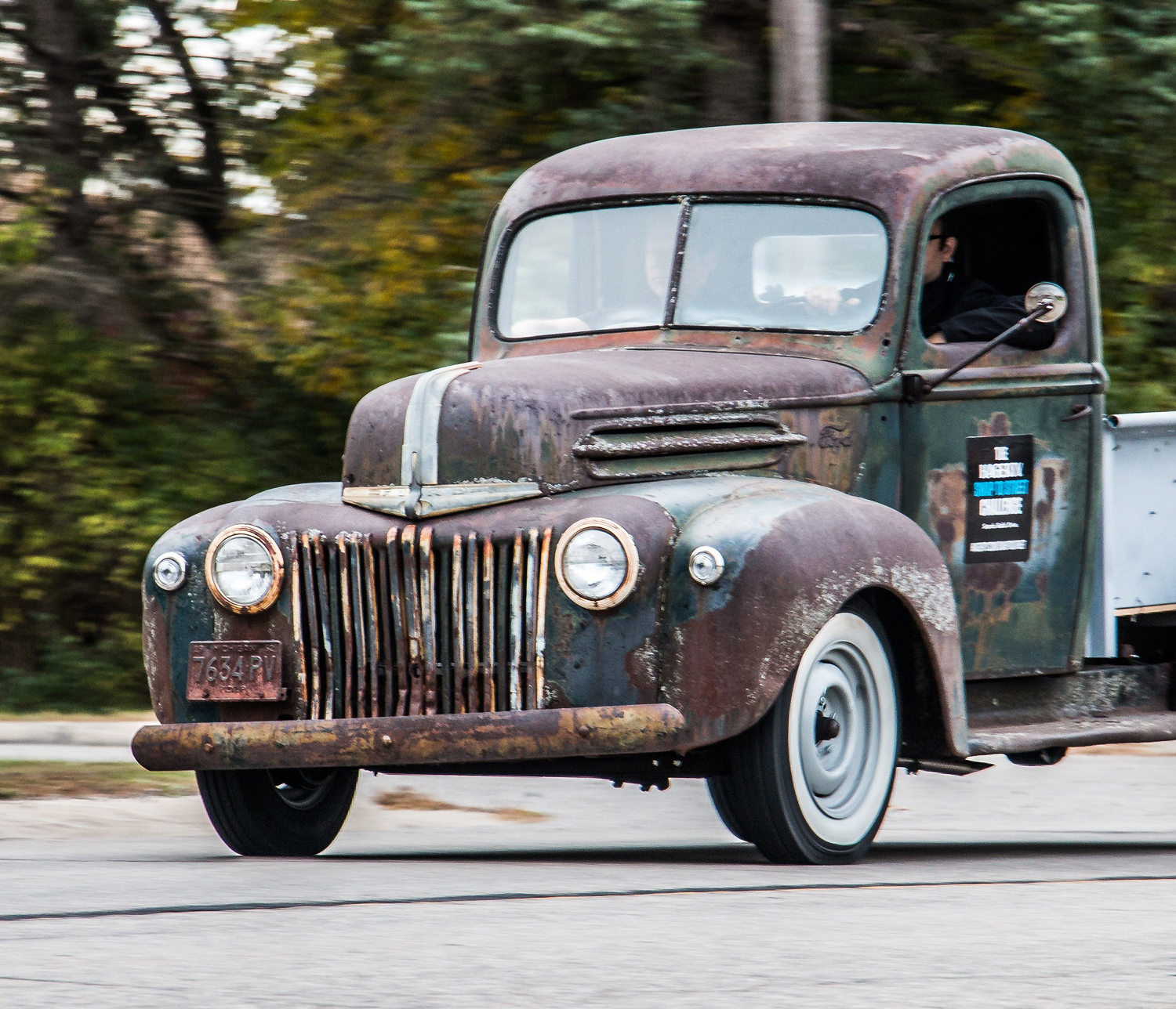 Hagerty crew resurrects old Ford pickup truck from spare parts ...