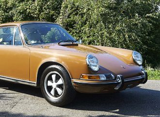 Porsche 911T with Steve McQueen connection going to auction