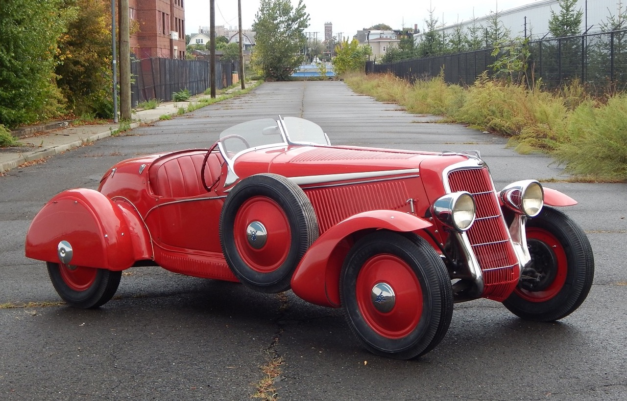 Italian-designed 1935 Ford Spyder | Dragone Auctions photos