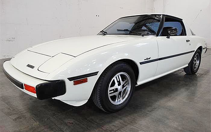 This clean-looking Mazda RX-7 has had just two owners since new