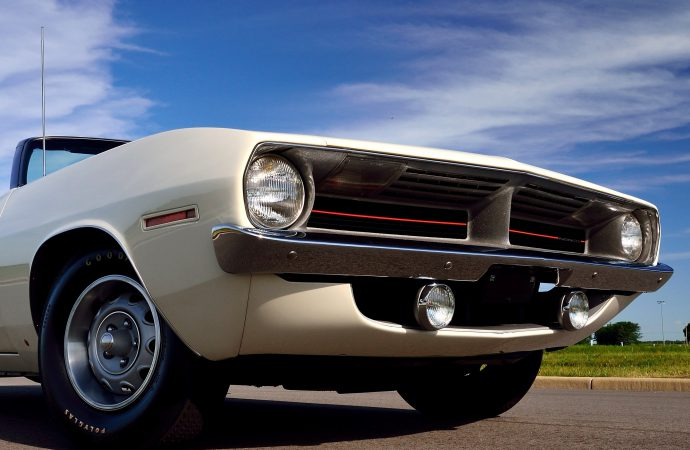 'Cuda, Challenger 'pilot cars' readied for Mecum Florida auction