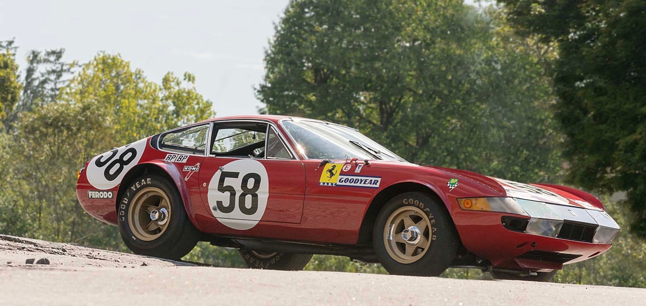 Ferrari built in '69 but not raced until two years later