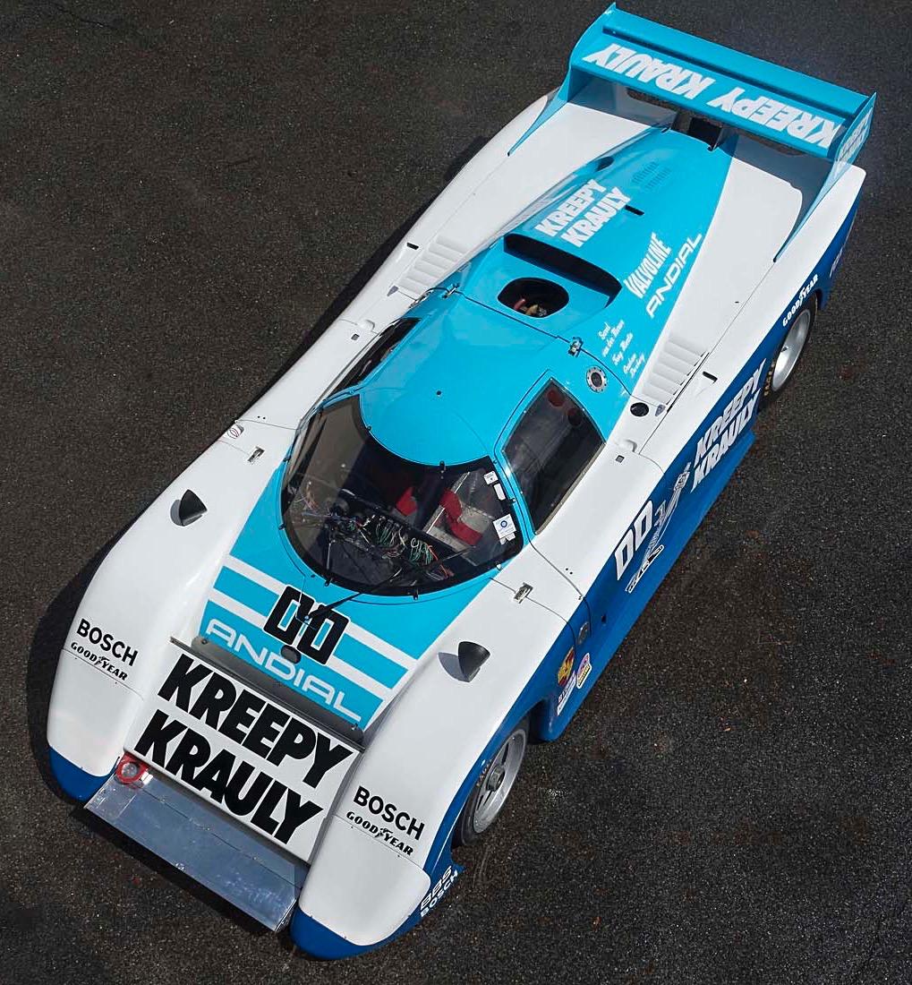 'Kreepy' Porsche was Newey design