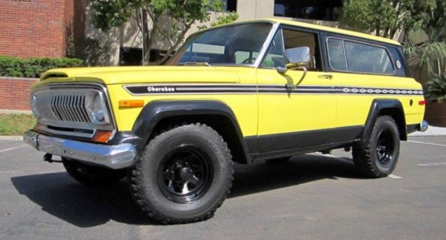 1977 Jeep Cherokee Chief has been restored inside and out