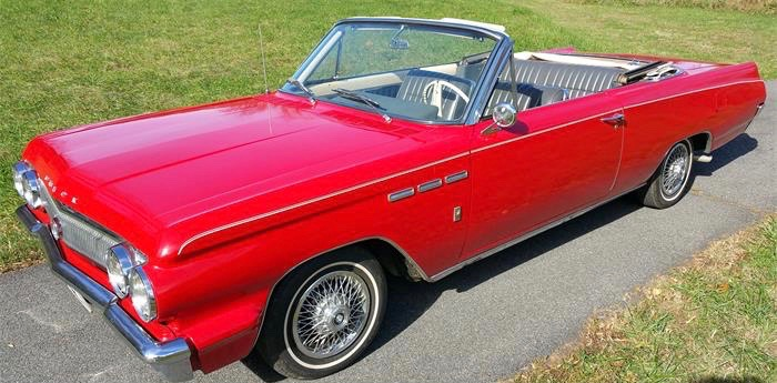 1963 was second year for Buick's new Skylark model