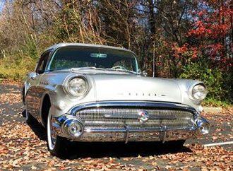 1957 Buick Special four-door hardtop