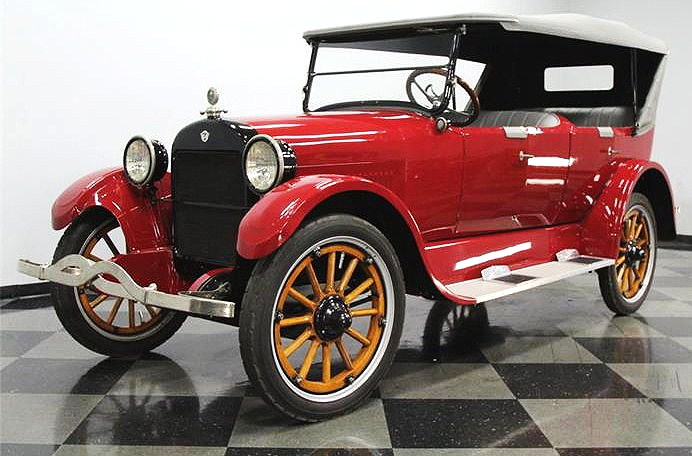 The 1922 REO evokes visions of the snowy roads of Christmas past