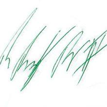 Andy Reid signature