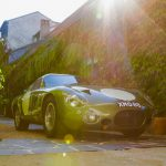 Aston Martin DP215 -the project car, one of the very special cars that took part in at Classic GT tour this year, visiting the famous Hotel de France