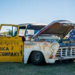 Classic rat rod truck